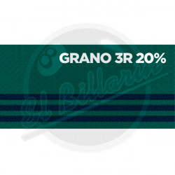 PAÑO DE BILLAR GRANO TRES RAYAS 20%
