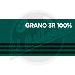 PAÑO DE BILLAR GRANO TRES RAYAS 100%